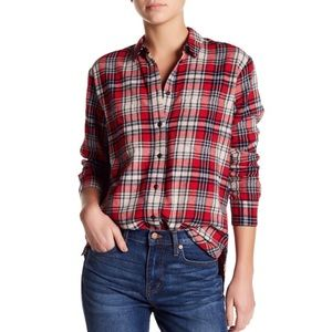 Madewell Classic Ex-Boyfriend Shirt Carl Plaid